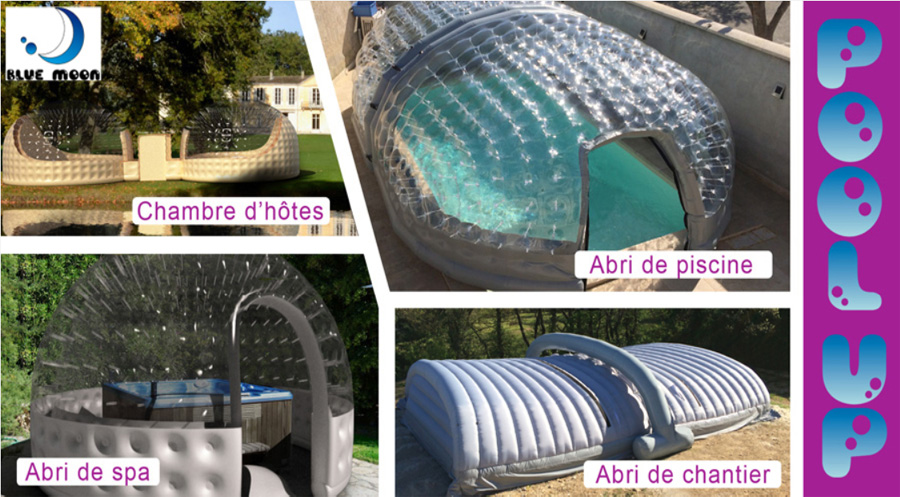 abri piscine pop up